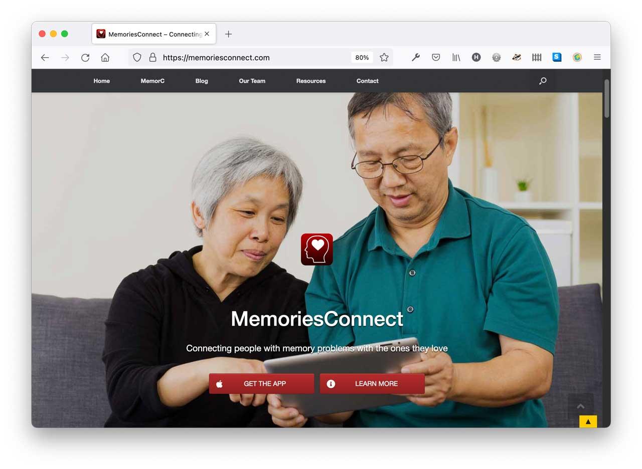 Click to visit MemoriesConnect.Com